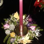 svícen fialový